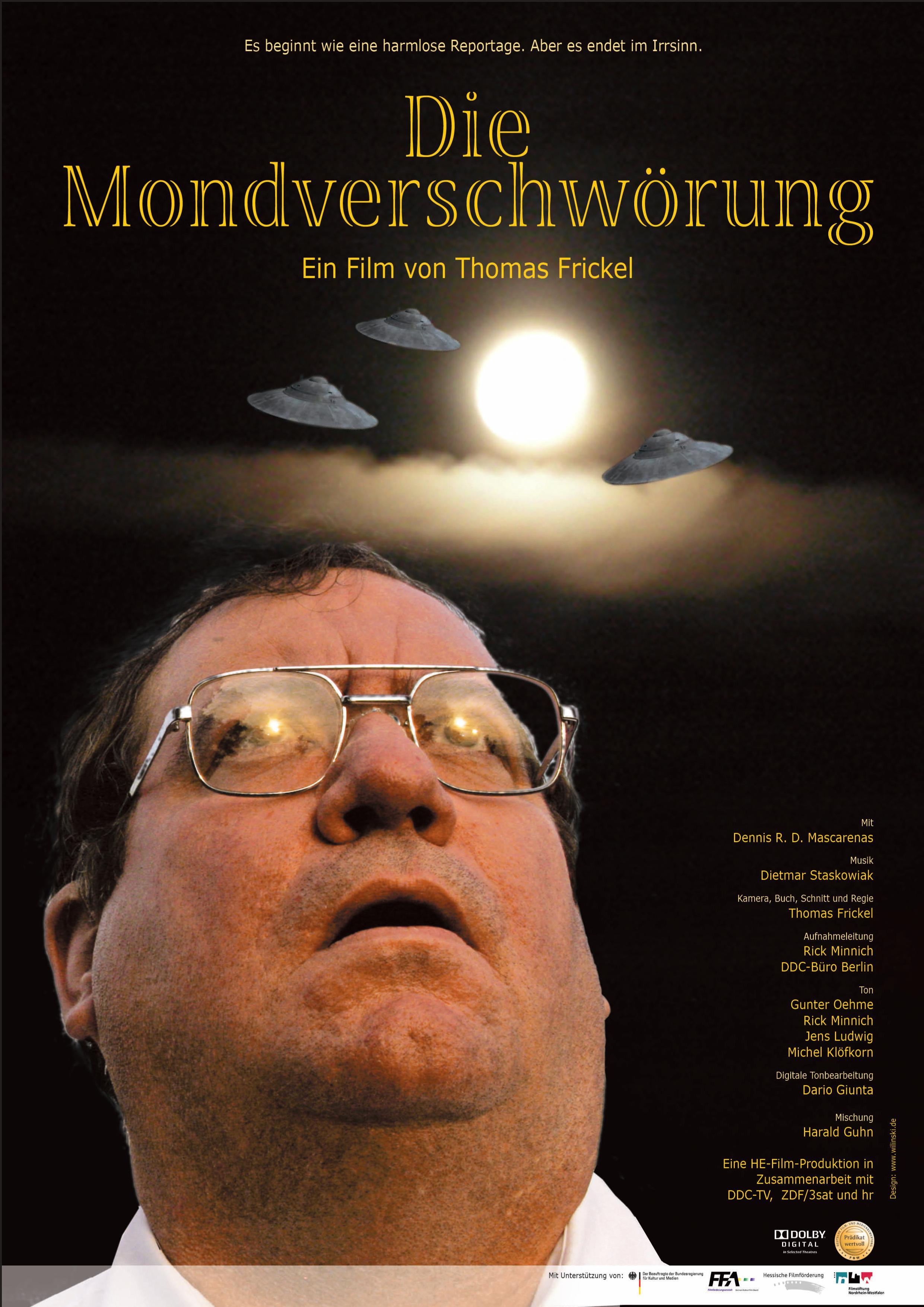 Plakat Die Mondverschwoerung