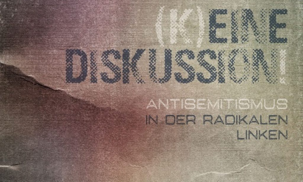 Antisemitismus keine Diskussion